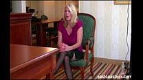 Hot MILF fucks at interview to get the job Preview