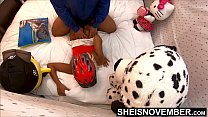 Watch My Fit Littlebutt  Ride A Bike Then Pull The Wedgie Out My Booty & Take A Fat Dick Prone Ass Up And Boned Doggy POV, Cute Skinny Ebony Msnovember on Sheisnovember