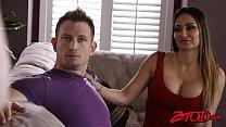 Cute teen Ella Nova shares boyfriends cock with stepmom
