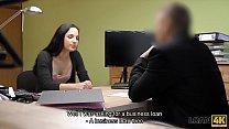 Loan4K. Flawless Ambitious Girl Kristy Black Appears In Loan Porn