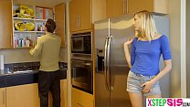 Horny teen stepdaughter gets with her big dick stepdad ⁃ jav68. thumbnail
