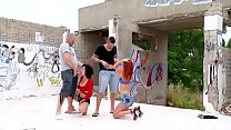 Dixie Valens & Her GF Get Down And Fuck Outdoors