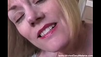 Stroking Cock With Amateur Granny