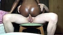 Negra Safada Sentou Gostoso Com O CU  {Veja No