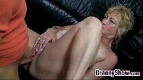 Blonde Grandma Being Licked And Fucked Vorschaubild