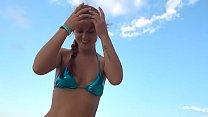 Km Pov Beach Footjob