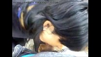 Asian girl giving BLOWJOB to small dick