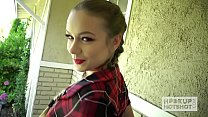Pretty 19 yo blonde Naomi Swann nailed by Hookup Hotshot Preview
