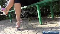 Hot high heels amateur nudity & voyeur HD
