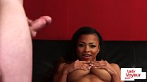 lana rain orgasm - Busty Black Stepdaughter Clitrubs During Joi