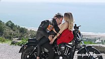 Private.com - Hot Biker Chick Natalia Starr Gets Cum Facial!'s Thumb