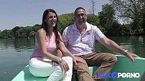 bridgett_ mfc: Ce Couple Libertin Baise Dans Le CanapÉ De La Belle thumbnail
