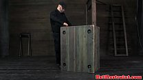 Busty Bdsm Restrained Sub In Dungeon ⁃ femalecab com ◦ Forbidden fruit films thumbnail