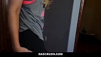 DadCrush - Hot Step-Daughter Curious About Step Daddy's Cock