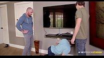 Couple Seduce Their Straight Neighbor Into Bareback Threesome - NextDoorBuddies