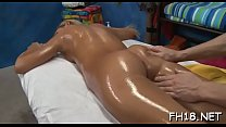 Cheerful endings massage clip