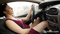 Hot Jenny Orgasming While Driving pornhub video