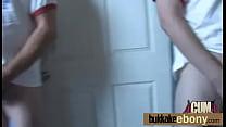 Ebony Spring Break Group Sex Bukkake After Orgy 7 video