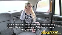 Fake Taxi crazy sex for blonde in fishnets anal rimming facial