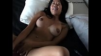 Orgasmic Asian girlfriend with big breasts