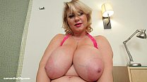 Busty BBW MILF Samantha 38G Drills Her Pussy With Dildo porn image