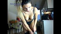 amateur sexydea flashing ass on live webcam