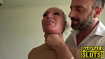 14422 Busty MILF succubus analled roughly before eating cum preview