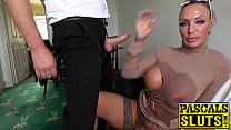 Busty MILF succubus analled roughly before eating cum صورة