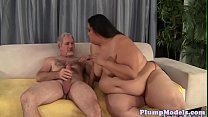 Cocksucking plumper gets screwed from behind - download porn videos
