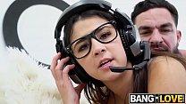 Gamer Girl Kylie Rocket Rides His Joystick