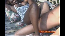 Black Babe FUCKED at a SWINGERS Party in PUBLIC pornhub video