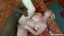 Big ass blonde babe is ready for dicking صورة