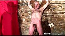 Extreme bondage action where tattooed thumbnail