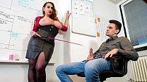 BUMS BUERO - Huge boobed MILF Nina Vegas boss f... - download porn videos