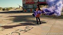 Jules Jordan - Angela White Gets Dp'd In A Desolate Warehouse