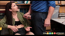 Cute Teen Shoplifter Jennifer Jacobs Fucked preview image