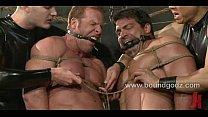Bodybuilder Derek Pain and Vince Ferelli pornhub video