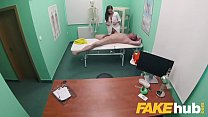 Fake Hospital Masseuse hot wet pussy and squirting orgasms cure backache