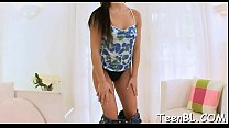 Naughty sweetheart is making stud yield with her wild blowjob