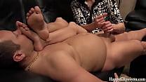 Oily cock massage small