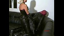STRAP-ON slave in full leather 01 preview image