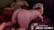 Sexy BBW MILF Cowgirl Creampie   PREVIEW
