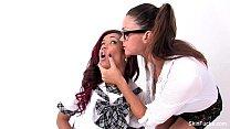 Classroom lesbians with Skin Diamond & Alison T...