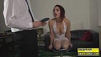 Redhead gets hard sex Vorschaubild