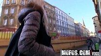 Mofos - Public Pick Ups - Beautiful Blonde Babe Hunting starring  Karol Lilien thumbnail