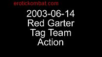 2003-06-14 Red Garter Tag Team Action... from Oilwrestlers.com