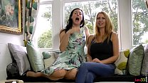 British MILF duo masturbating together