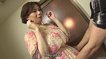 Uncensored voluptuous Japanese Yuko Iijima stripped Subtitled thumbnail