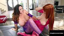 Hot Boobs Penny Pax & Alison Tyler Grind Them Pretty Pussies preview image