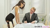 8216 Babes - Office Obsession - Learning the Ropes starring Carolina Abril and Chad Rockwell clip preview